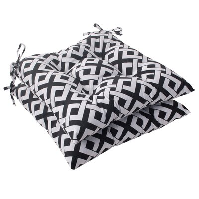 Pillow Perfect Boxin Tufted Seat Cushion (Set of 2)