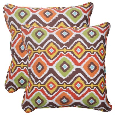 Pillow Perfect Mesa Corded Throw Pillow (Set of 2)