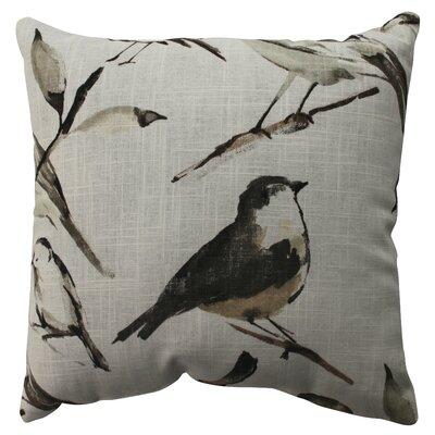 Pillow Perfect Bird Watcher Cotton / Poly Pillow