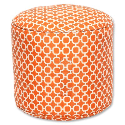 Pillow Perfect Hockley Bean Bag Ottoman