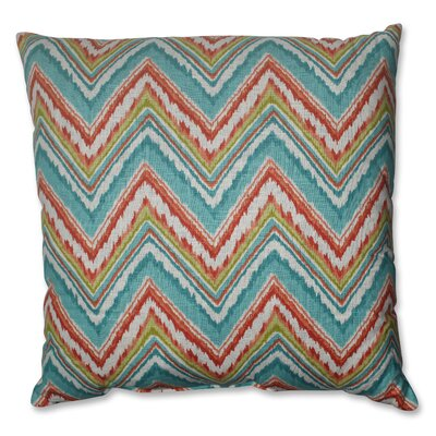 Pillow Perfect Chevron Cherade Polyester Floor Pillow