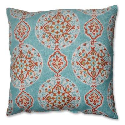 Pillow Perfect Mirage Medallion Polyester Floor Pillow