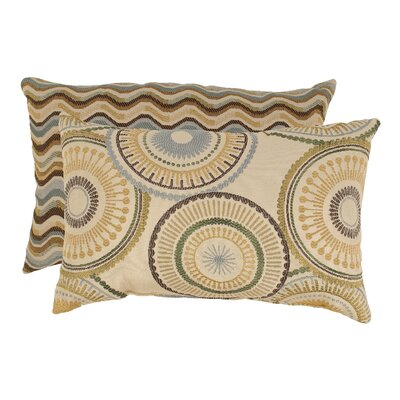 Riley and Wave Rectangular Throw Pillow (Set of 2)
