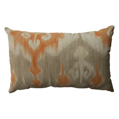 Pillow Perfect Marlena Ikat Cotton Throw Pillow