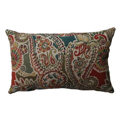 Piper Paisley Polyester Throw Pillow