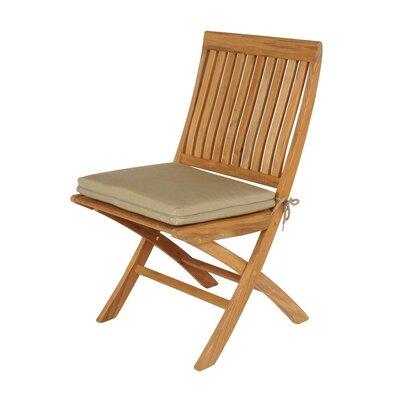 Barlow Tyrie Teak Monaco Folding Dining Side Chair