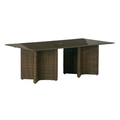 Savannah Woven Rectangular Dining Table