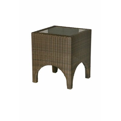 Barlow Tyrie Teak Savannah Woven Side Table