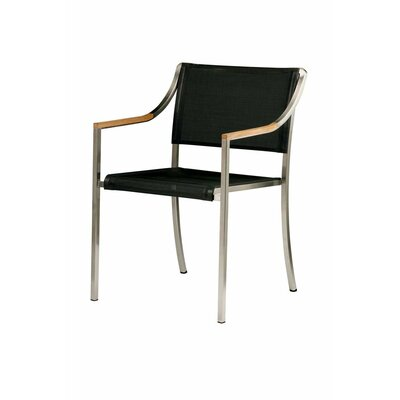 Barlow Tyrie Teak Quattro Stacking Armchair in Pearl
