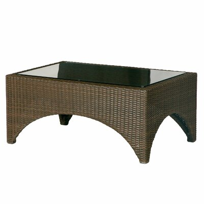 Barlow Tyrie Teak Savannah Small Woven Coffee Table
