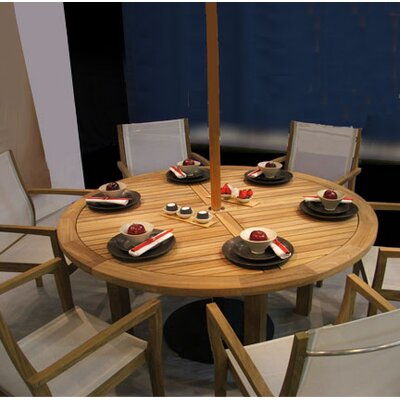 Barlow Tyrie Teak Horizon Circular Dining Table
