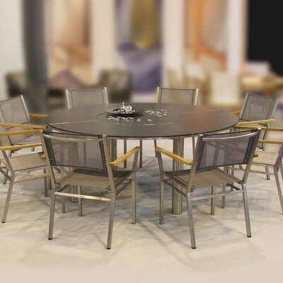 Barlow Tyrie Equinox Circular Dining Table