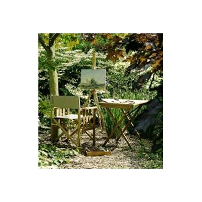 Barlow Tyrie Teak Safari 3 Piece Dining Set