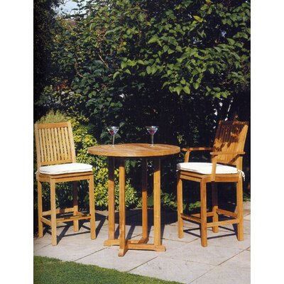 Barlow Tyrie Teak Edinburgh Outdoor High Dining Table