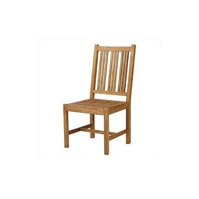 Barlow Tyrie Teak Mission Side Chair (Outdoor)