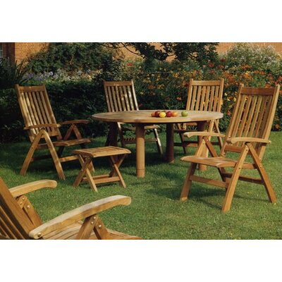 Barlow Tyrie Teak Drummond 5 Piece Dining Set