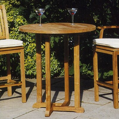 Barlow Tyrie Teak Edinburgh Bar Height Dining Set