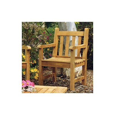 Barlow Tyrie Teak Felsted Dining Arm Chair with Cushion