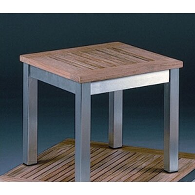 Barlow Tyrie Teak Equinox Square Low Side Table