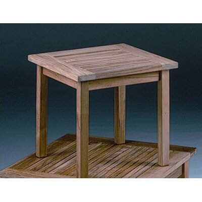 Barlow Tyrie Teak Monaco Square Low Side Table