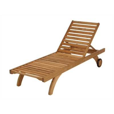Capri Lounger with Wheels