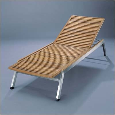 Barlow Tyrie Teak Equinox Teak and Stainless Lounge