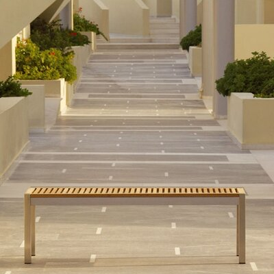 Barlow Tyrie Teak Equinox Backless Bench