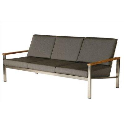 Barlow Tyrie Teak Equinox Deep Seating Sofa with Cushions