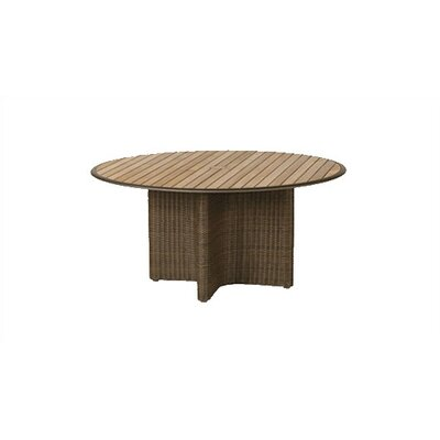 Barlow Tyrie Teak Savannah Woven Round Dining Table