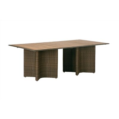 Barlow Tyrie Savannah Woven Rectangular Dining Table