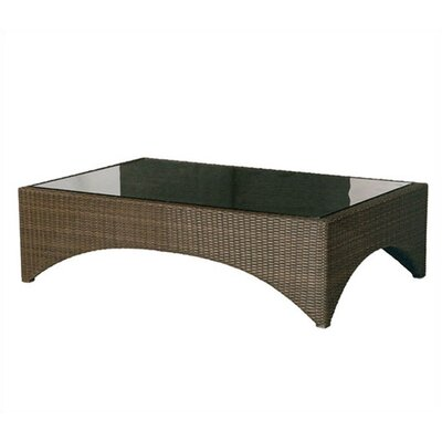 Barlow Tyrie Teak Savannah Large Woven Coffee Table