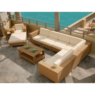 Barlow Tyrie Teak Arizona Java Deep Seating Set
