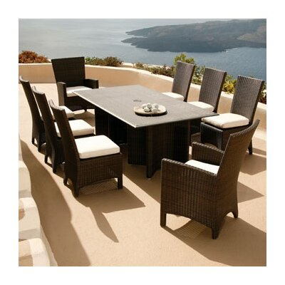 Barlow Tyrie Teak Savannah 9 Piece Dining Set