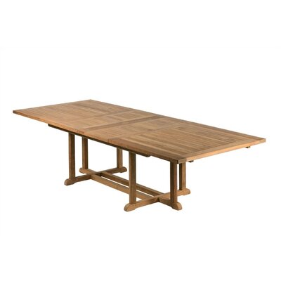 Barlow Tyrie Arundel Teak Extending Dining Table