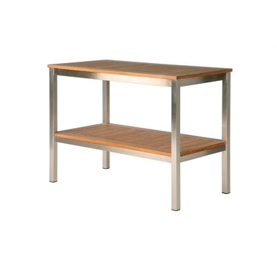 Barlow Tyrie Teak Equinox Serving Side Table
