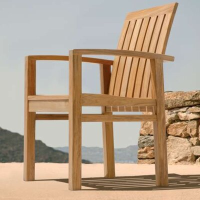 Barlow Tyrie Teak Apex Dining Arm Chair