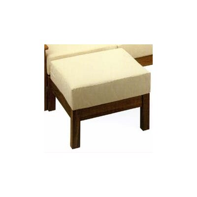 Barlow Tyrie Teak Haven Ottoman with Cushion