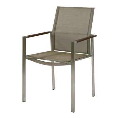 Barlow Tyrie Teak Mercury Stacking Dining Arm Chair