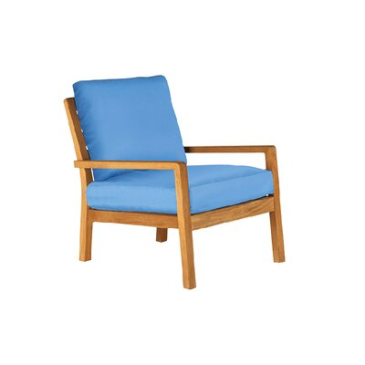 Barlow Tyrie Teak Avon Deep Seating Chair with Cushions
