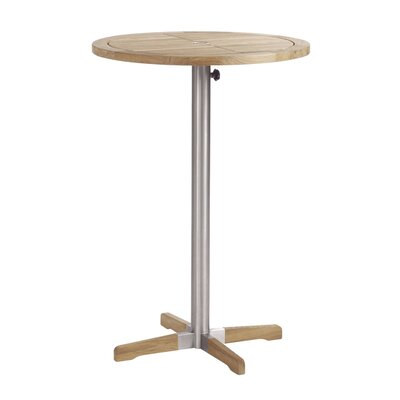Barlow Tyrie Teak Equinox Round High Bar Table
