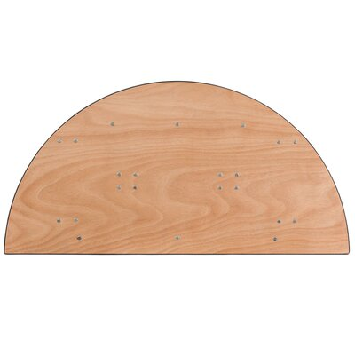 "Flash Furniture 48"" Semi Circle Folding Table"