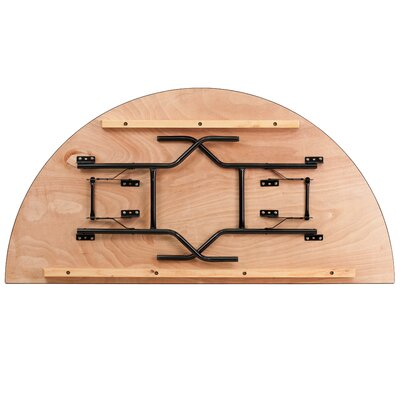 "Flash Furniture 72"" Semi Circle Folding Table"