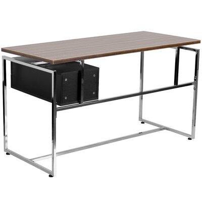 Flash Furniture Computer Desk with 2 Drawer Pedestal
