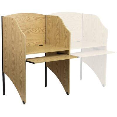 Flash Furniture Starter Study Carrel Desk