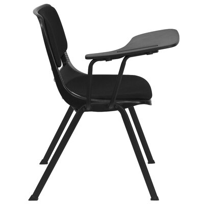 Flash Furniture Plastic Right Handed Tablet Arm Desk Padded Seat