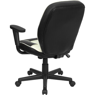 Flash Furniture Mid-Back Vinyl Steno Executive Chair