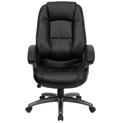 Flash Furniture High-Back Office Chair with Metal Base