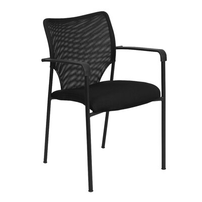 Flash Furniture Hercules Series Designer Mesh Fabric Stacking Arm Chair with Padded Foam Seat