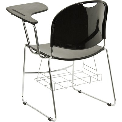 "Flash Furniture High Density 17"" Polypropylene Classroom Tablet Arm Chair"