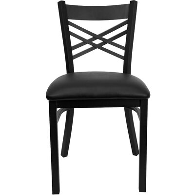 Flash Furniture Hercules Series  ''X'' Back Side Chair